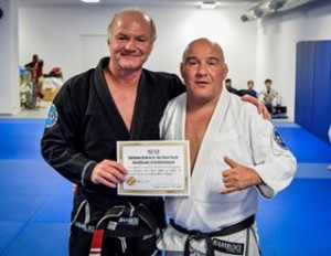 Carlson Gracie Jr promoting me to 2nd Degree Black Belt